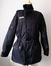 Rayven Ladies Black Waterproof Motorcycle Jacket - S ~ Ex Cond