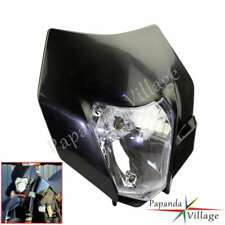 Dirt bike Universal Head light Suzuki DR DRZ RM 650 200 250 125 400 80 65 85 70