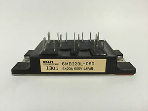 6MBI20L-060 Fuji Electric IGBT Module 6 x 20A 600V Japan NEW 1pc