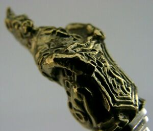 ENGLISH STERLING SILVER GILT UNICORN OF SCOTLAND SPOON QUEENS BEASTS 1973
