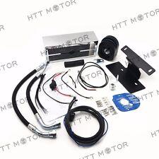 Reefer Oil Cooler Fan Cooling System For Harley Touring Models 1999-2008 Chrome