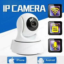 HD 720P Pan/Tilt PT P2P Wifi Wireless Security IP Camera iPhone Android APP View