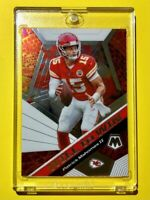 Patrick Mahomes WILL TO WIN PANINI MOSAIC SPECIAL INSERT 2020 CHIEFS - Mint!