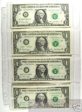 Total (4)---4-POCKET CURRENCY  PAGES>>HEAVY DUTY VINYL