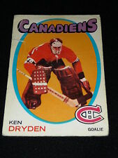 71-72 OPC # 45 KEN DRYDEN Rookie RC + 4 OPC's lot  * Conditions vary * L@@K!
