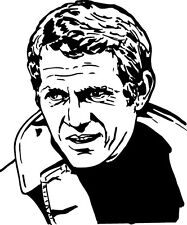 Sticker Steve Mc Queen 100 - 57x69 cm