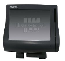 Micros Workstation 4 Ws4 Terminal w/ Table Top Mount, 400614-001