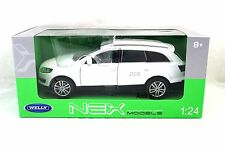 Welly 2009 AUDI Q7 White 1/24 New Diecast Car 22481