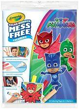 Crayola Color Wonder lío gratis PJ máscaras Libro Para Colorear Mágico & Plumas Conjunto