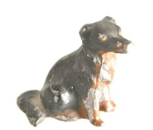 Vintage Dog Hollow Diecast Lead Toy Figure 1930s 40s 50s