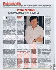 Coupure de presse Clipping 2003 Frank Michael   (1 page)