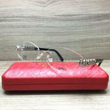 da784e7ff74e Caviar M2347 Eyeglasses Silver Gold Black Austrian Crystals C35 Authentic  56mm