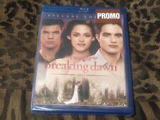 Twilight Saga: Breaking Dawn 1 Bluray Promo new