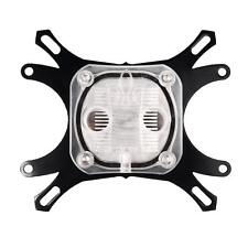1 X CPU Water Cooling Block Waterblock Copper Base Cool Inner Channel New
