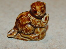 wade red rose tea figurines retired american series #2 1985-1994  beaver