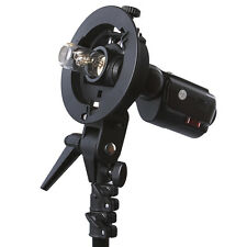 Neewer S-type Reflector umbrella Flash Bracket Mount (Bowens mount supported)