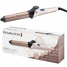 Remington ProLuxe Women's Hair Curling Tong OptiHeat 210°C 32mm Ci9132 Rose Gold