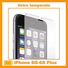"""Pellicola Vetro Temperato per Apple Iphone 6 e 6S PLUS Protezione Schermo 5.5"""""""