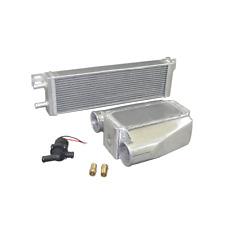 Water to Air Intercooler Liquid Heat Exchanger + pump