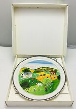 Villeroy & and Boch Laplau Naif THE FOUR SEASONS - Summer No2 BN058 plate BOXED