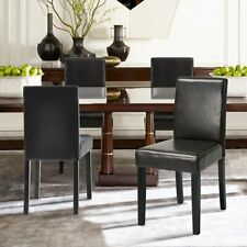 [Set of 2] Dining Room Chairs with Solid Wood Legs for Living Room Furniture