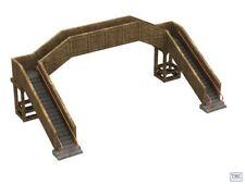 Bachmann 44-0044 Scenecraft Ho/Oo Gauge Concrete footbridge. New!