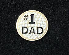 #1 DAD Golf Ball Marker