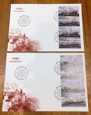 Iceland Post Official Illustrated FDC 2010.03.18. Fishing Trawlers - BKT Panes