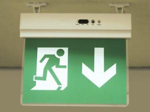 Notbeleuchtung Schild LED Fluchtwegleuchte Notleuchte Notausgang  Dauerleuchtend