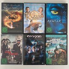 Abenteuerfilme DVD Sammlung (6-DVDs) Avatar, Eragon, Tintenherz, LoneRanger u.a.