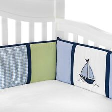 Nautica Kids  Zachary Baby  ( Crib Bumper Only ) -Boats