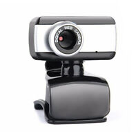 HD Webcam with Microphone Web Cam USB 2.0 Camera for Computer PC Laptop Desktop