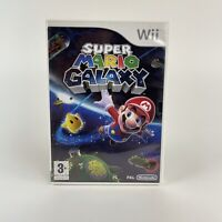 Super Mario Galaxy - Nintendo Wii Game - 100% Complete PAL - Take To The Stars !