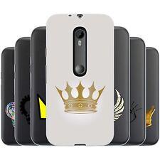 dessana Krone TPU Silikon Schutz Hülle Case Handy Tasche Cover für Motorola