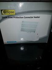 Frost Watcher Compact Electric Convector Heater Wall Mounted For Indoor 500W