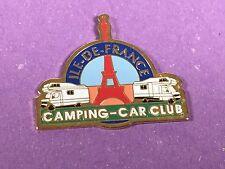 pins pin car camping car caravane club ile de france tour eiffel paris