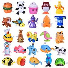 Wind Up Assorted Animal Toys 25Pc Party Supplies Goodie Bag Fillers Durable Safe