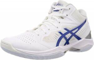 Asics Basketball Shoes GELHOOP V12 1063A021 White / ASICS Blue Fast Shipping NEW