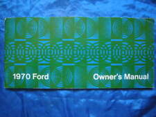 FORD-1970-Originale-USA-Owners Manual-Full-Sizemodelle-1969-Brochure-Catalog-RAR