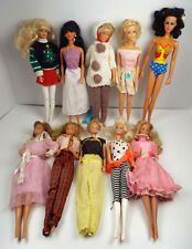 Vintage Barbie Maxie Fashion Dolls Clothes Mattel DC Comics Estate Lot D