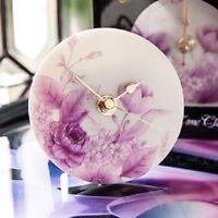 Ibis & Orchid Clock, Romantic Garden (75017)