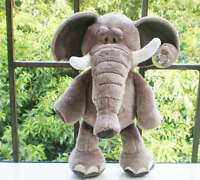 "8"" Cute Wild Animals Elephant Plush Kid Baby Soft Doll Stuffed Animal Toy Newest"