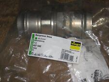 Viega Sanpress Inox Verschraubung 437 442 (2360) 54 flachdichtend SC-Kontur DVGW