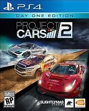Project Cars 2: Day One Edition (Sony PlayStation 4, 2017) USED