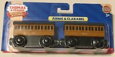 Fisher-Price Thomas & Friends Wooden Railway Magnetic Annie and Clarabel **NEW**