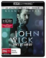 John Wick 4K Ultra HD : NEW UHD Blu-Ray