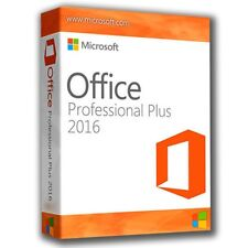 Microsoft Office 2016 inc Word Outlook Excel for Office, Home, Student, Business