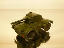 DINKY TOYS 670 ARMOURED CAR - MILITARY - ARMY GREEN 1:43 -  GOOD CONDITION
