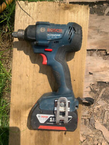 Bosch GDX 18 V-180 Professional Impact Driver Wrench & 5Ah Battery