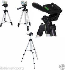 Cavalletto Treppiede Professionale per Telecamere Fotocamere Digitali 103 cm